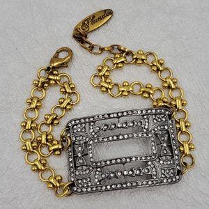 Plunder Art Deco Buckle Bracelet